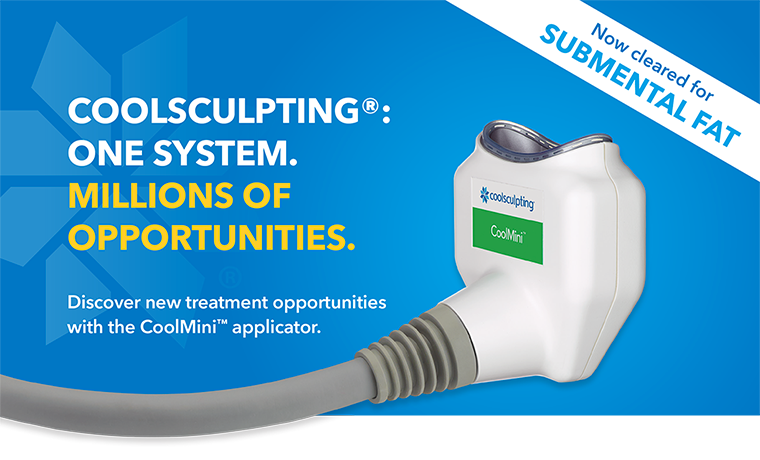 Coolsculpting CoolMini handpiece in Charleston, SC