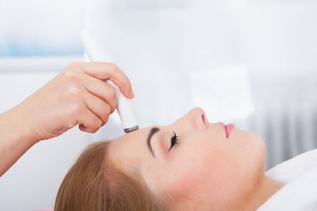 Getting Microdermabrasion Treatment