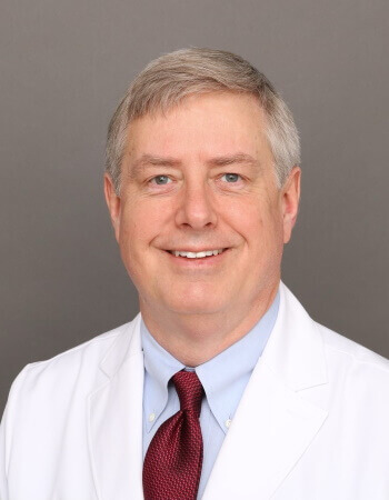 A picture of Patrick J. O'Neill, MD wearing his doctor attire.