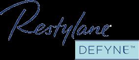 Restylane DEFYNE Cosmetic Fillers Logo